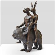 Sale 9047A - Lot 5023 - Gillie and Marc - They Loved Koalas H:23 x L:17 x W:9.5cm (weight: 2.3 kgs)