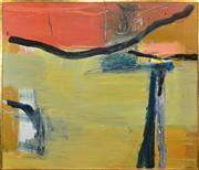 Sale 8339A - Lot 524 - Elizabeth Wadsworth (1952 - ) - Squatters Selection 181 x 212cm