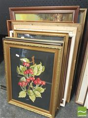 Sale 8413T - Lot 2056 - Group of Assorted Artworks Including Original Paintings and Decorative Prints, framed, various sizes