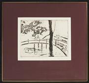 Sale 8811 - Lot 2031 - Carol Lumsden (1945 - ) - Winter Blossoms, 1985 19.5 x 25cm
