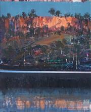 Sale 8847 - Lot 502 - Mel Brigg (1950 - ) - Shoalhaven near Nowra 29 x 24cm