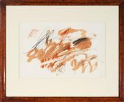 Sale 9021 - Lot 599 - Pauline Rhodes - Untitled 1978 36.5 x 55 cm (frame: 68 x 81 x 2 cm)