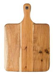 Sale 8705A - Lot 7 - Laguiole Louis Thiers Wooden Serving Board w Handle, 39 x 26cm
