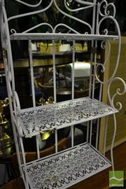 Sale 8472 - Lot 1094 - Metal Garden Stand