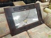 Sale 8620 - Lot 1097 - Timber Framed Mirror