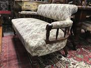 Sale 8822 - Lot 1575 - Timber 2 Seater Settee with Spindle Gallery