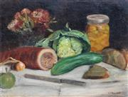 Sale 8838A - Lot 5123 - Jura Mandel (1886 - 1971) - Still Life, c1910 40 x 50cm