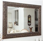 Sale 8902H - Lot 12 - A Coco Republic bevel edged mirror in gilt frame, Height 92cm, Width 120cm