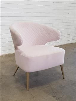 Sale 9146 - Lot 1054 - Modern tub chair (h73 x d58cm)