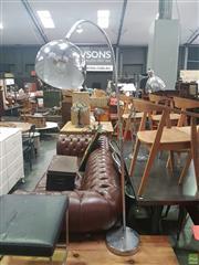 Sale 8648C - Lot 1046 - Chrome Arc Lamp