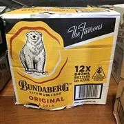 Sale 8801W - Lot 51 - 12x Bundaberg Rum & Cola Bottles, 640ml