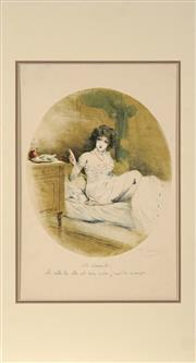 Sale 8822A - Lot 5096 - Fernand Louis Gottlob (1873 - 1935) - Le Dessert 43 x 29cm
