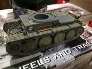Sale 8817C - Lot 595A - K&C Figural Groups (2); Pz.Kpfw 38 T #204 with German Tank Commander