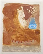 Sale 8838A - Lot 5040 - Theo Tobiasse (1927 - 2012) - Rachel, 1981 64 x 50cm (framed, no glass)