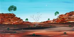 Sale 9055A - Lot 5045 - Doug Frith (1962 - ) - Rockledges, 2020 30.5 x 61 cm