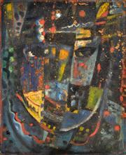 Sale 8325 - Lot 522 - Michael Kmit (1910 - 1981) - Conducting Composition, 1957 42.5 x 34.5cm
