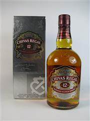 Sale 8335W - Lot 612 - 1x Chivas Regal 12YO Blended Scotch Whisky - 40% ABV, 700ml in box