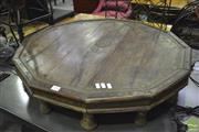 Sale 8341 - Lot 1036 - Burmese Octagonal Coffee Table