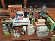 Sale 8435 - Lot 1047 - A Collection of Vintage Groceries incl. Soap & Spices