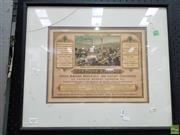 Sale 8566 - Lot 1037 - Vintage Stationers Advertisement
