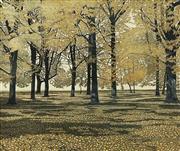 Sale 8693A - Lot 5076 - Phil Greenwood - Leaf Fall, 1979 43.5 x 51cm