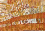 Sale 8786 - Lot 594 - Lorna Kantilla (1977 - ) - Ceremonial Body Painting 57 x 76cm