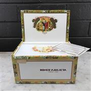 Sale 8987 - Lot 610 - Romeo y Julieta Cazadores Cuban Cigars - box of 25, stamped August 2017
