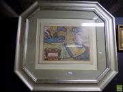 Sale 8561 - Lot 2067 - Map Print Mediterranean & Arabia