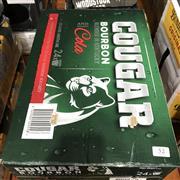 Sale 8801W - Lot 52 - 24x Cougar Bourbon & Cola Cans 4.5%, 375ml