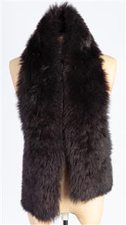Sale 8926H - Lot 47 - A brown lamb fur stole
