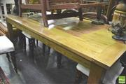Sale 8371 - Lot 1048 - Oak Dining Table (H 78.5 x L 180 x W 91cm)