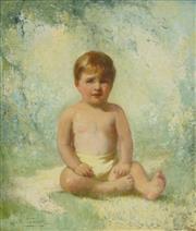 Sale 8449A - Lot 562 - Gordon Lyall Trindall (1886 - 1965) - Francis 68 x 58cm