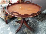 Sale 8676 - Lot 1061 - Revolving Wine Table