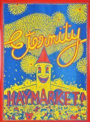 Sale 8344 - Lot 518 - Martin Sharp (1924 - 2013) - Eternity Haymarket 85 x 61cm