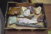 Sale 8390 - Lot 1143 - 14 Cut Geology Sections Labelled