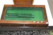 Sale 8431 - Lot 1094 - Fitted Glass Top Case