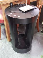 Sale 8611 - Lot 1070 - Timber Tri Leg table