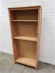 Sale 9059 - Lot 1010A - Modern Open Bookshelf (H:197 x W:89 x D:37cm)