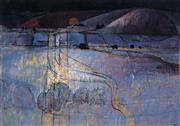 Sale 9013 - Lot 546 - Lawrence Daws (1927 - ) - Clare Study III 85 x 120 cm (frame: 108 x 140 x 4 cm)