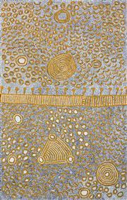 Sale 8321 - Lot 547 - Yinarupa Nangala (c1955 - ) - Ngaminya 152 x 95cm