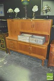 Sale 8371 - Lot 1006 - G-Plan Teak Highboard Cocktail Cabinet