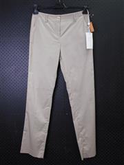 Sale 8514H - Lot 74 - Avantgarde Beige Stretch Cotton Pants - UK size 10