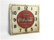 Sale 8600A - Lot 2 - Vintage Coca Cola clock face, c. 1930s, marked selected devices Co. Inc, New York, NY, W 36cm.