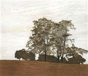 Sale 8693A - Lot 5077 - Phil Greenwood - Heath Trees, 1978 43 x 51cm