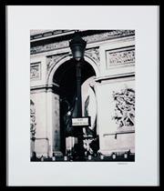 Sale 8782A - Lot 134 - Shahram, A set of six photographic prints of Parisian scenes including Arc De Triomphe,  image size 47x47cm