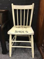 Sale 8805 - Lot 1004 - Half Sixpence Shoe Shine Chair