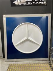 Sale 8927 - Lot 2037 - Large Mercedes Sign