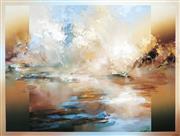 Sale 9013 - Lot 504 - David Voigt (1944 - ) - Harlequin River, 1988 100 x 130 cm (frame: 113 x 143 x 3 cm)