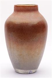Sale 9035 - Lot 36 - Good Venetian studio glass tapered scavo vase (H24cm)