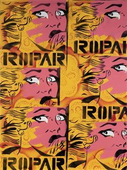 Sale 9081A - Lot 5034 - Dennis Ropar (1971 - ) - Crying Girl 101.5 x 76 cm